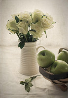 White Roses Green Apples